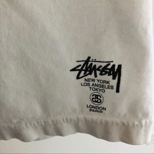 Stussy Shirts - Stussy Paris Pocket Tee with French Flag Patch